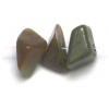 Semi-precious Chips 16in Strung Moss Jade